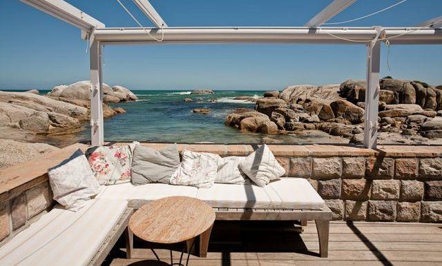 Beach villas holiday Cape Town Bakoven