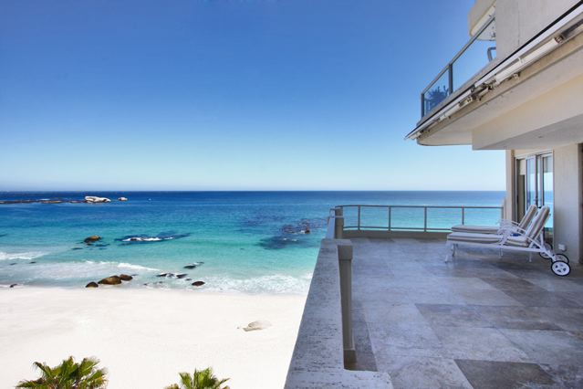 luxury villa short term rentals cape town clifton belle